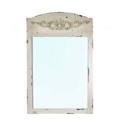 Зеркало настенное Прованс белое