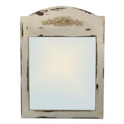 Зеркало Прованс белый